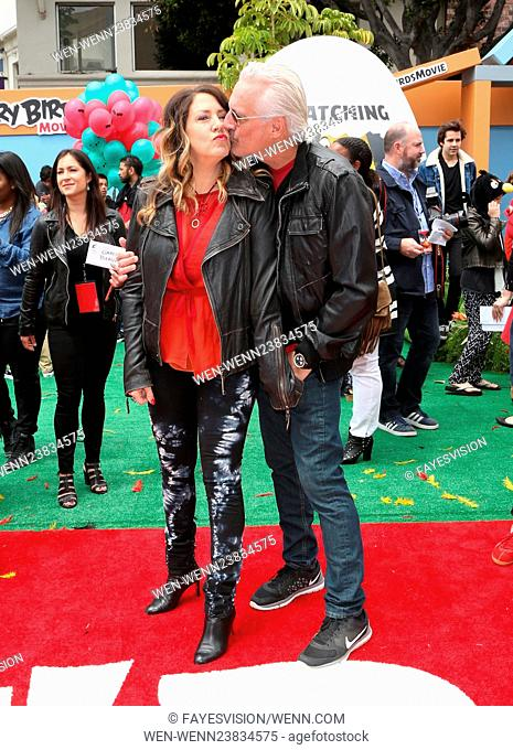 'The Angry Birds Movie' LA premiere at the Regency Theater Featuring: Joely Fisher, Christopher Duddy Where: Westwood, California