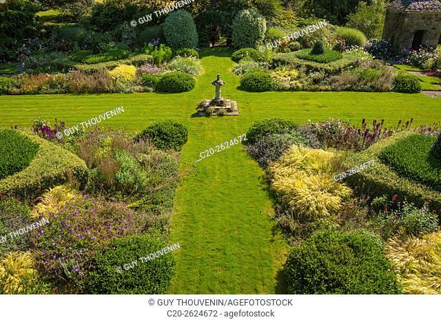 Kerdalo gardens, Cotes d'Armor, 22, Brittany, France