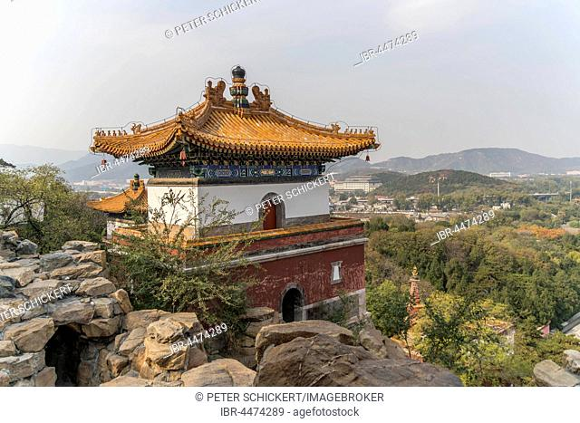 Pavilion, Summer Palace, Beijing, China