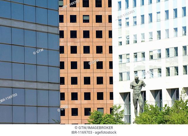 La Defense, business district, Paris, France, Europe