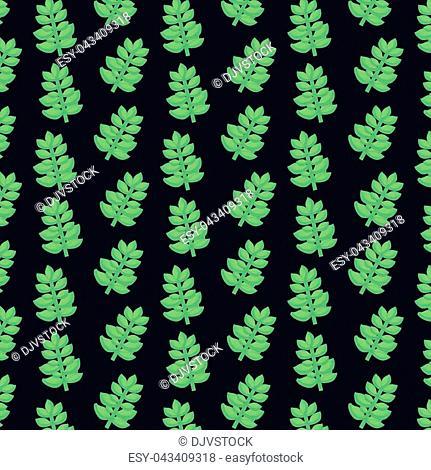 succulent plant seamless pattern vector illustration graphic design