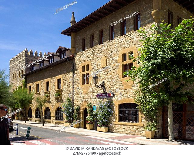 Karlos Arguiñano Restaurant, Zarautz, Gipuzkoa province, Basque Country, Spain. Historical Heritage Site