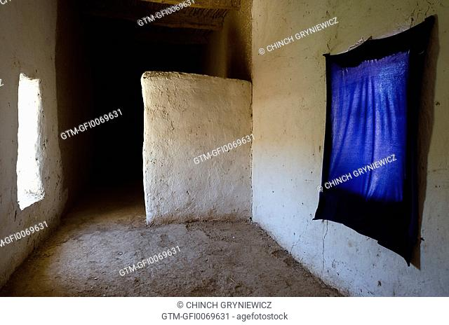 Empty Room/Corridor in Traditional Mud-Built House
