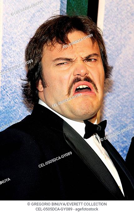 Jack Black at arrivals for KING KONG Premiere, Loews E-Walk and AMC Empire 25 Theaters, New York, NY, December 05, 2005. Photo by: Gregorio Binuya/Everett...