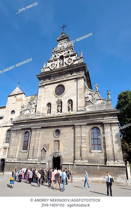 Catholic cathedral, Lviv, Ukraine, Eastern Europe