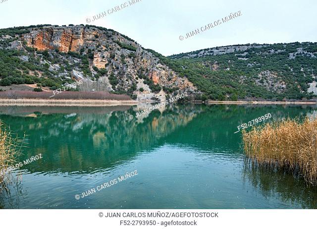 El Tobar lagoon, Ruta del Mimbre, Cuenca, Castilla - La Mancha, Spain, Europe