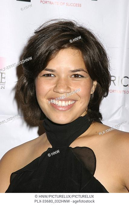 "America Ferrera 08/12/06 AIDS Healthcare Foundation""""Hot In Hollywood"""" @ The Henry Fonda/Music Box Theatre, Hollywood Photo by Ima Kuroda/HNW / PictureLux..."