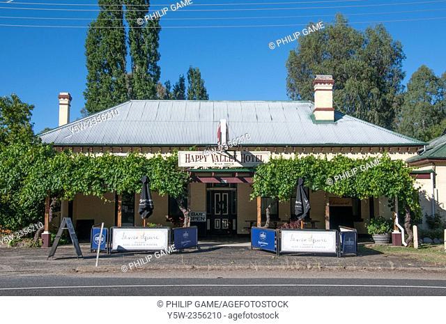 1860s roadside inn outside Myrtleford, Ovens Valley, Victoria