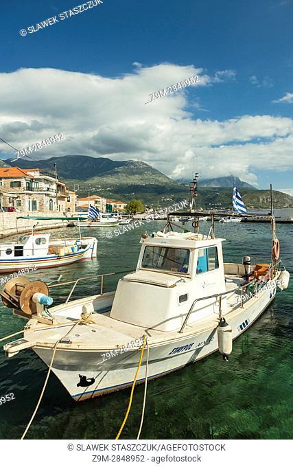 Agios Nikolaos village, Messenia, Greece. Peloponnese peninsula