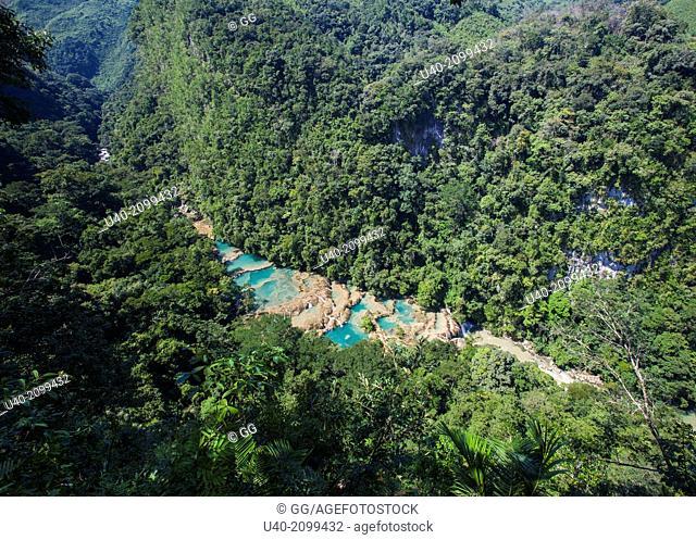 Guatemala, Baja Verapaz, Semuc Champey