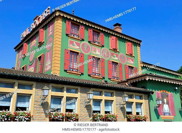 France, Rhone, Collonges au Mont d'Or, Paul Bocuse Restaurant L'Auberge du Pont de Collonges, three Michelin stars since 1965