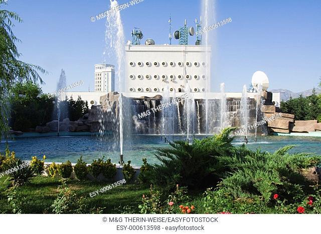 Administrative and residential buildings, Ashgabat, Turkmenistan