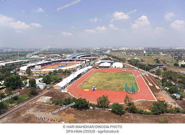shree shiv chhatrapati sports complex stadium, pune, maharashtra, India, Asia