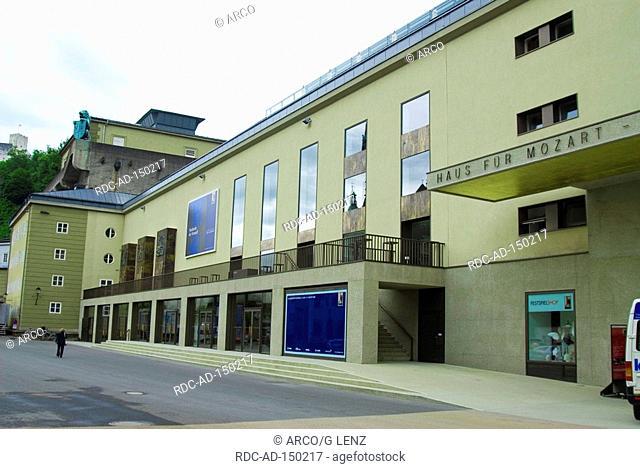 House of Mozart Salzburg Austria Mozarthaus former festival hall