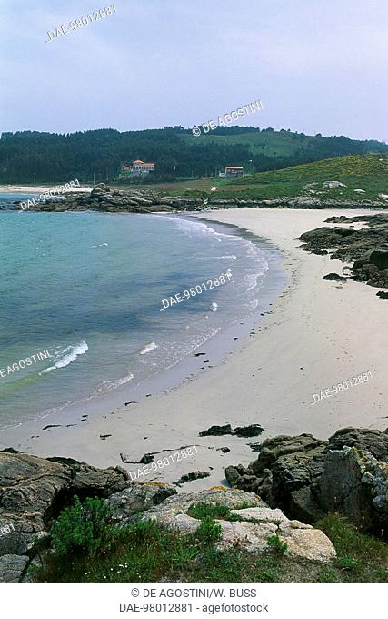 Muxia beach, Costa da Morte, Galicia, Spain
