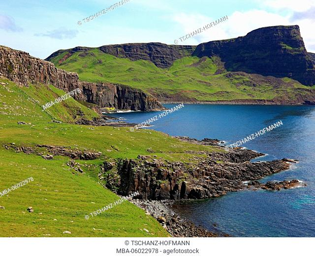 Scotland, the Inner Hebrides, Isle of Skye, Duirinish peninsula, landscape at Neist Point