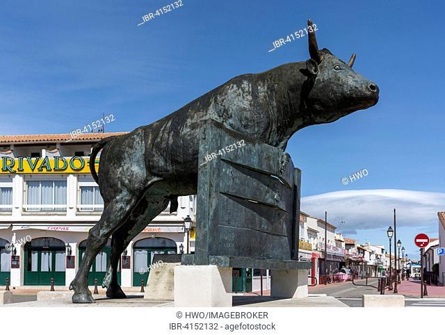 Bullfighting Monument, Saintes-Maries-de-la-Mer, Provence-Alpes-Côte d'Azur, France