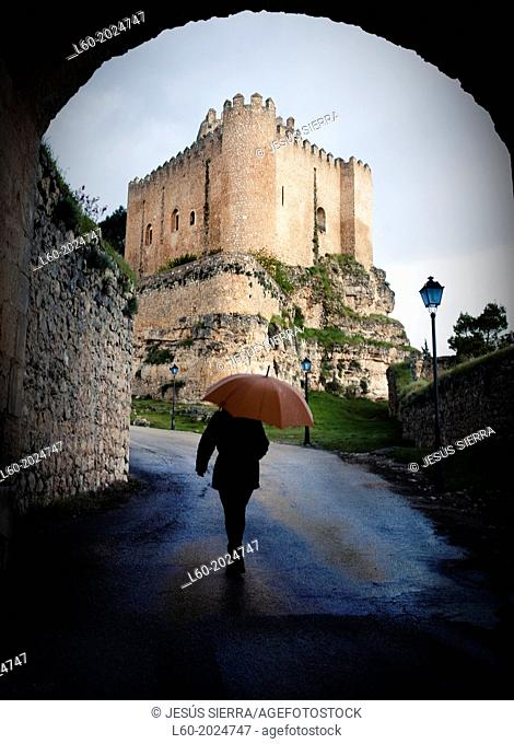 Castle of Alarcón, Parador Nacional Turismo. Cuenca province. Spain