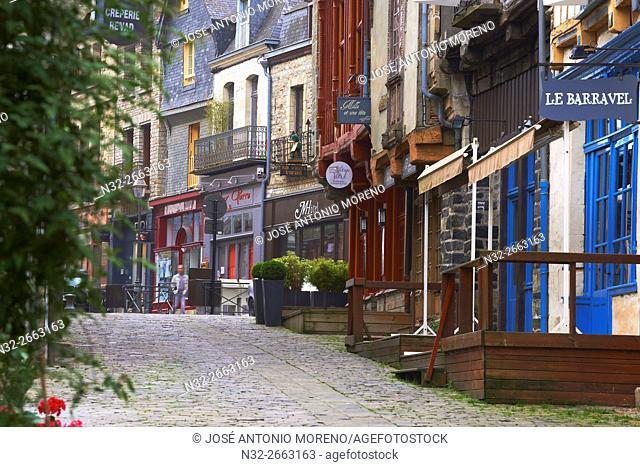 Vitre, Ille-et-Vilaine, Old Town, Bretagne, Brittany, France