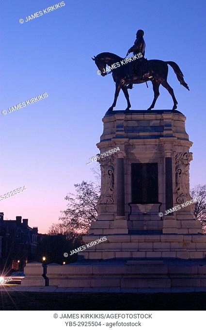 Robert E Lee Statue, Richmond, Virginia