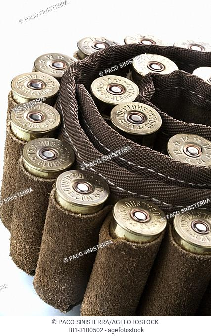 Canana, shotgun cartridges, studio photography, , Valencia, Spain