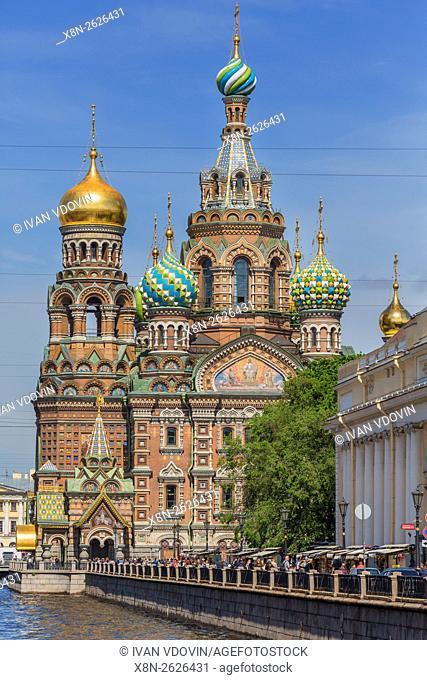 Church of the Savior on Blood, Saint Petersburg, Russia