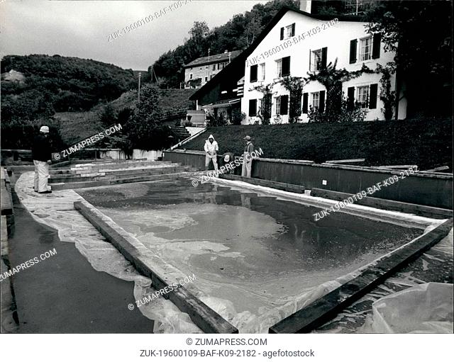 1982 - A swimming pool filled with wine It isn t a joke but this swimming pool in Mont-sur-Rolle(French part of Switzerland) is filled with young wine called...