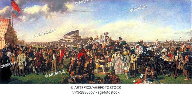 William Powell Frith - The Derby Day