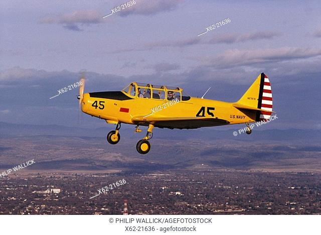 Fairchild PT-26, World War 2 vintage trainer, restored