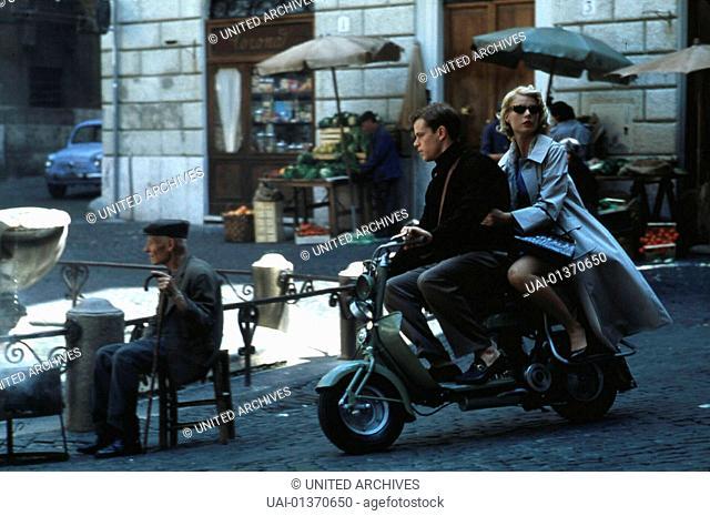 Der Talentierte Mr. Ripley, 1990er, 1990s, Crime story, Film, Kriminalfilm, Motorroller, Talented Mr. Ripley, The, Vespa, Der Talentierte Mr