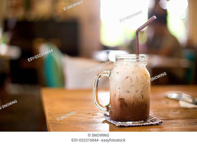ice blend caramel coffee