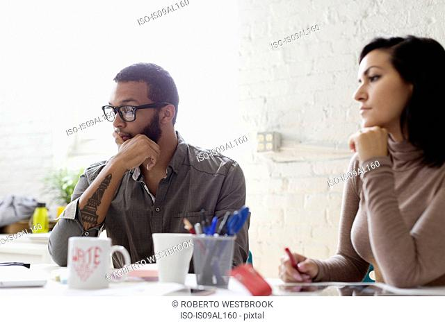 People in a meeting in Small Business, Start-up