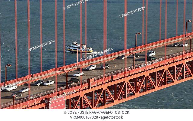 USA-California-San Francisco City-The Golden Gate Bridge