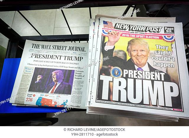 Despite the 3:00 AM concession, the News Corp. newspapers in New York came out with a print edition in time for the morning