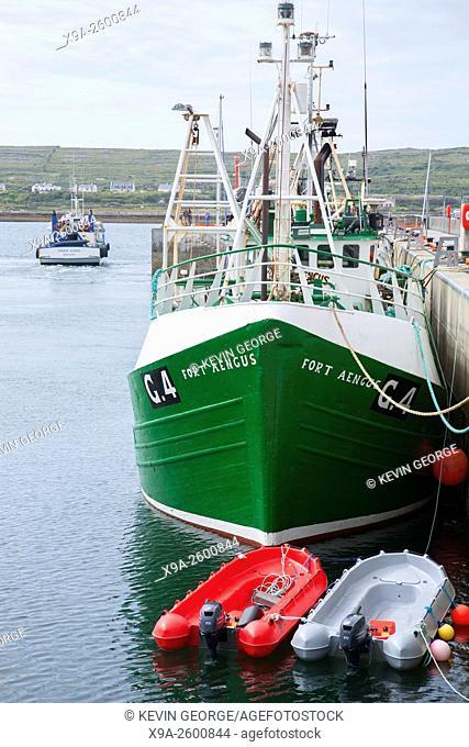 Fishing Boat, Kilronan, Inishmore, Aran Islands, Ireland