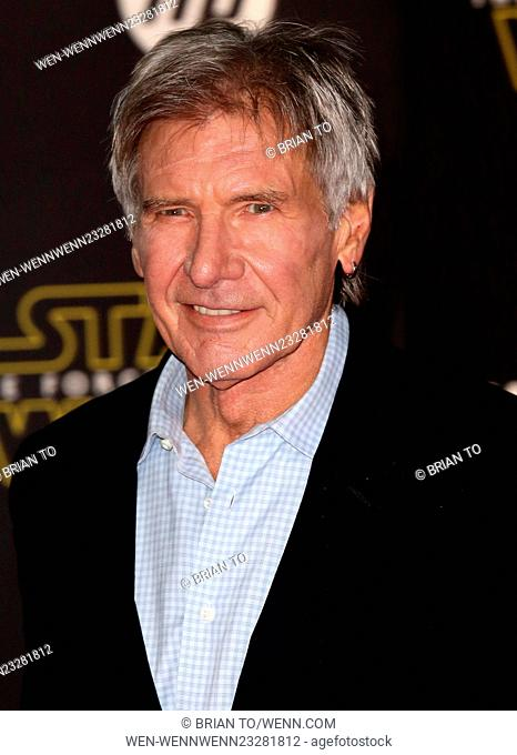 "Celebrities attend Premiere Of Walt Disney Pictures And Lucasfilm's """"Star Wars: The Force Awakens"""" at the Dolby Theatre"