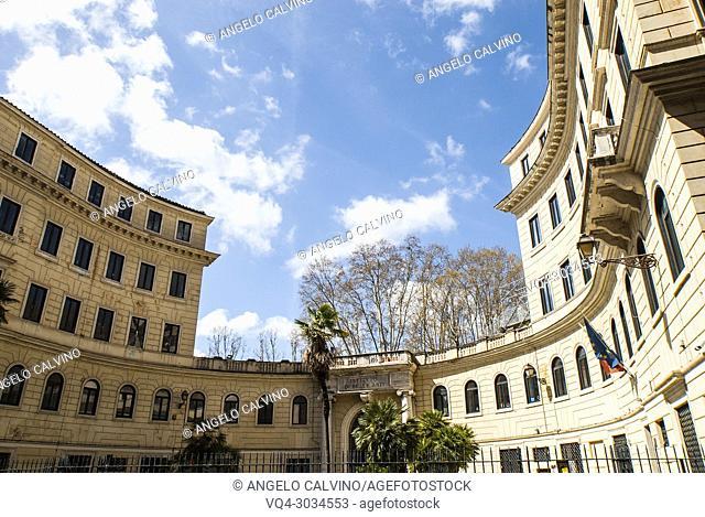 Istituto di Belle Arti in Via di Ripetta, Rome, Italy, Europe
