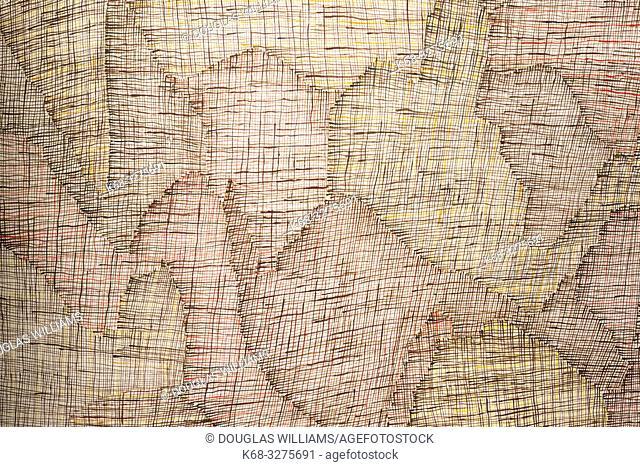 Syaw (Fishnet) 2012, by artist Regina Pilawuk Wilson, Marking the Infinite, Contemporary Women Artists from Aboriginal Australia