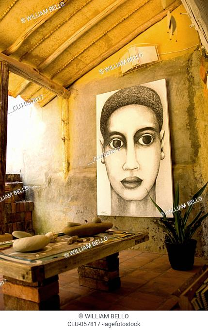 Indigo Arts Shop, Barichara, Santander, Bucaramanga, Colombia