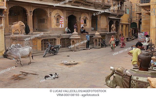 Nathmal-ki Haveli,Jaisalmer, Rajasthan, India