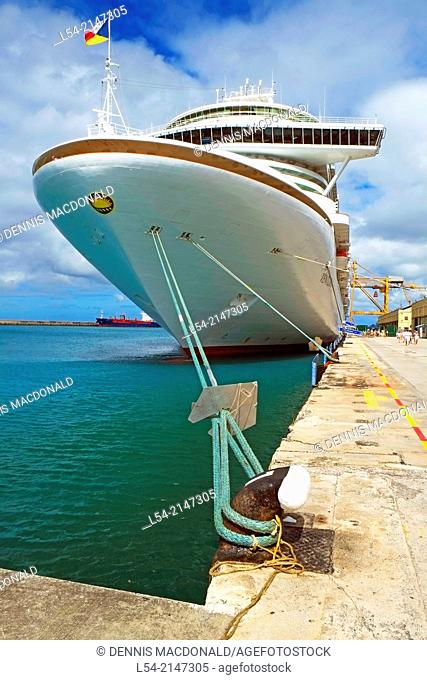Bridgetown Barbados Caribbean Cruises P & O Ventura Lesser Antilles