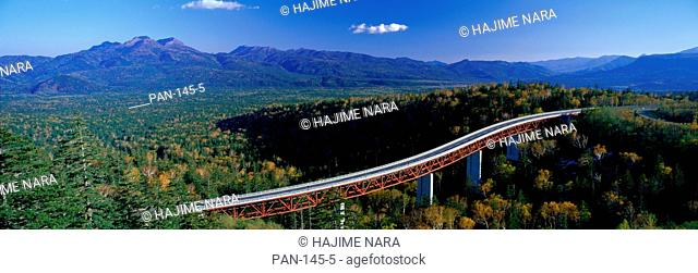 Mikuni Pass, Kamishihoro, Hokkaido, Japan