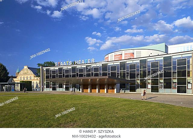 Ottoneum and state theater in Kassel, Hesse, Germany