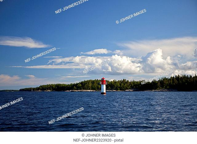 Lighthouse at sea