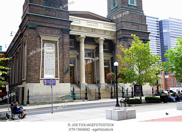 downtown presbyterian church Nashville Tennessee USA
