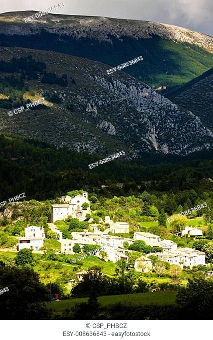 Saint-Jurs, Provence, France