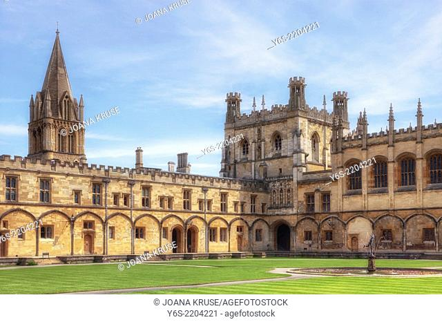 Christ Church College, Oxford, Oxfordshire, England, United Kingdom