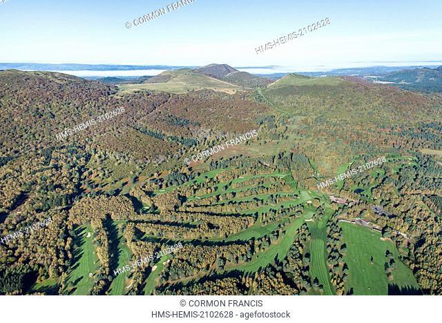 France, Puy de Dome, Orcines, Parc Naturel Regional des Volcans d'Auvergne (Natural regional park of Volcans d'Auvergne)
