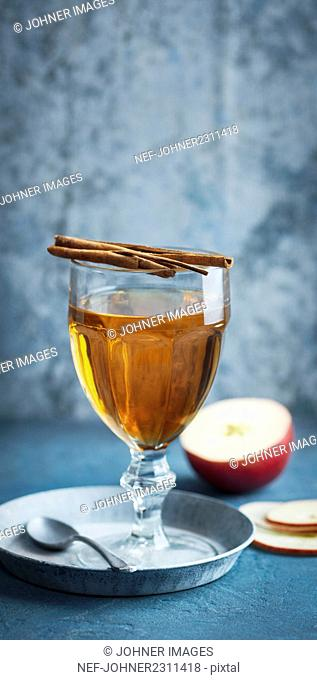 Drink with cinnamon