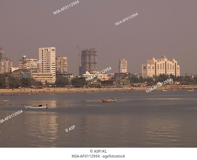 Skyline in Mumbai